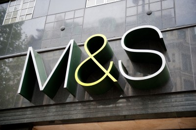 Marks and Spencer (M&S) Store Sign